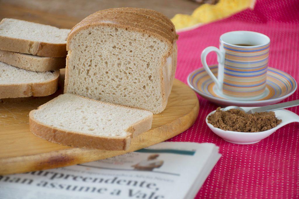 Pão de Forma Sem Glúten com Açúcar Mascavo - Foto: IC Fotografias